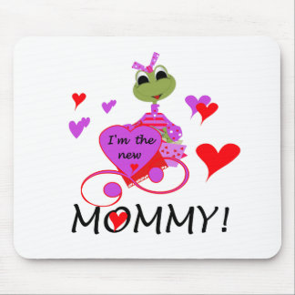 Frog New Mommy Mouse Pad