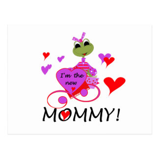 Frog New Mommy T-shirts and Gifts Postcard
