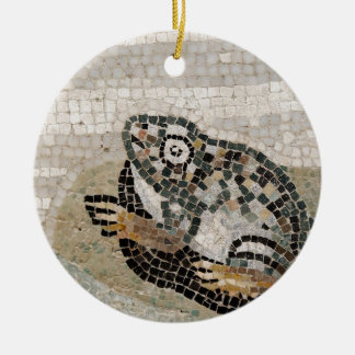 Frog, Nile mosaic, from the House of the Faun Ceramic Ornament
