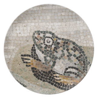 Frog, Nile mosaic, from the House of the Faun Party Plates