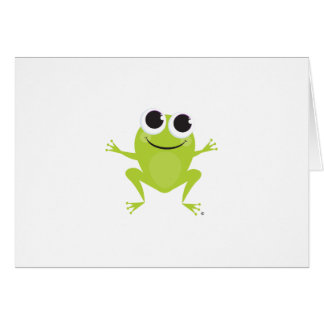 Frog Notecard Stationery Note Card
