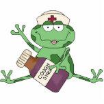 """Frog Nurse Sculpture<br><div class=""""desc"""">design by Cheryl Seslar at www.digiwebstudio.com</div>"""