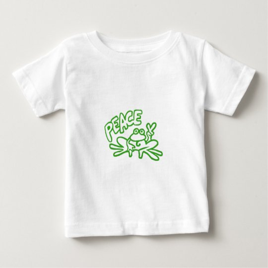 Frog of Peace Baby T-Shirt