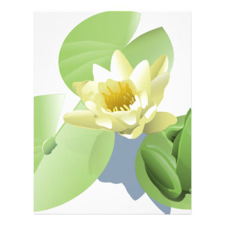 Frog on a Lilly Pad Letterhead
