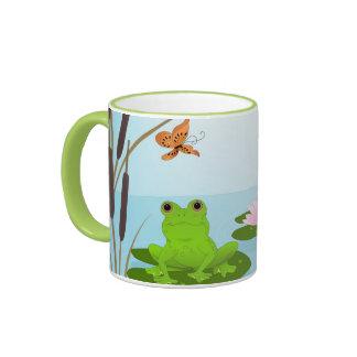 Frog on a Lilypad Mug