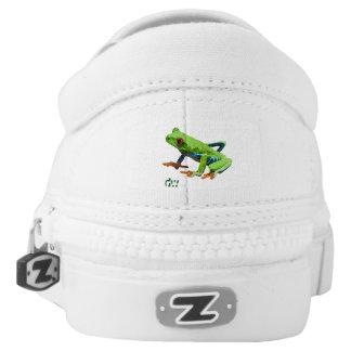 Frog on a Log Slip-On Sneakers
