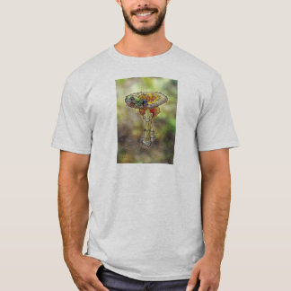 Frog on a Stool Basic T-Shirt Template -