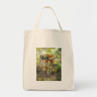 Frog on a Stool Tote Bag