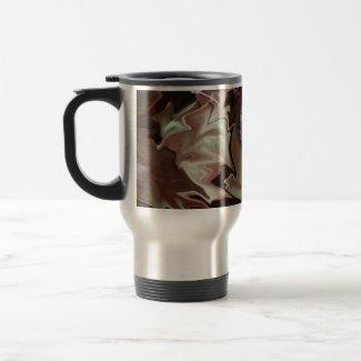 Frog on leaf purplish abstract blur coffee mugs