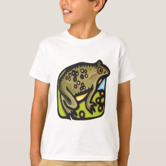 Frog On Lillypad T-Shirt