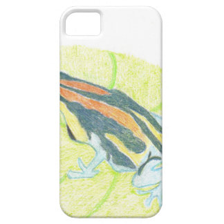 Frog on Lily Pad iPhone SE/5/5s Case