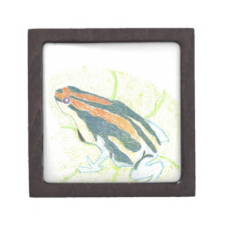 Frog on Lily Pad Jewelry Box