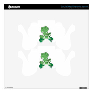 Frog on Lilypad Skins For PS3 Controllers