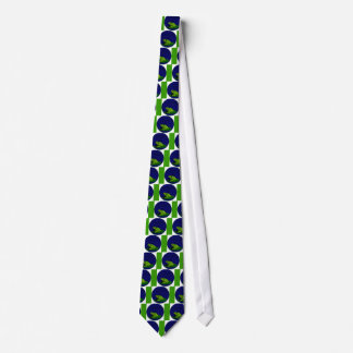 Frog on Lilypad with music notes Tie