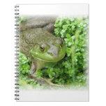 Frog on Marsh Notebook