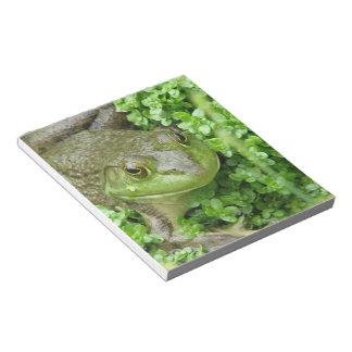 Frog on Marsh Notepad