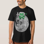 Frog on moon T-Shirt
