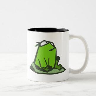 Frog on Rock Mug