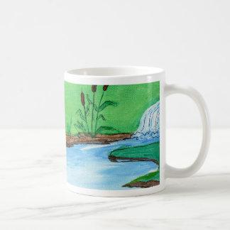 Frog on the Rock Coffee Mug