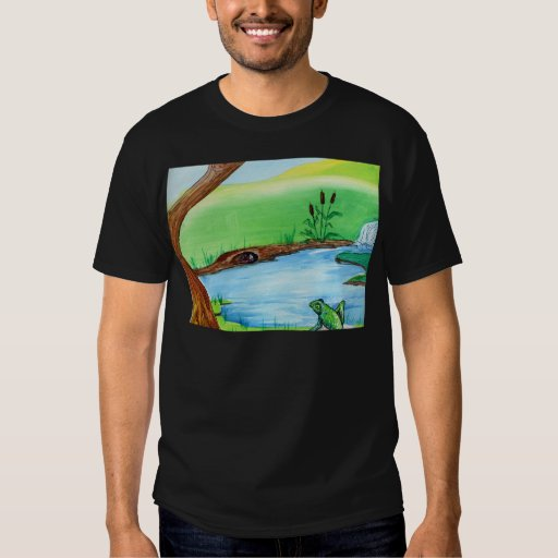 Frog on the Rock T-Shirt