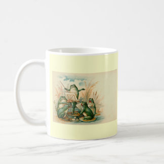 """Frog Orchestra"" Classic White Coffee Mug"