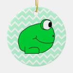 Frog. Ornaments