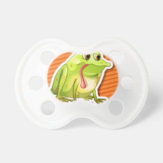 Frog Baby Pacifiers
