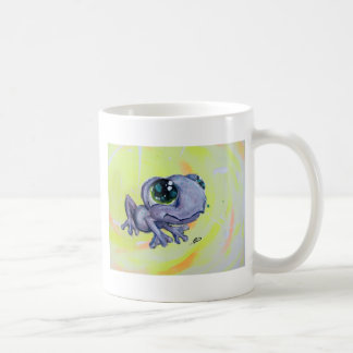 Frog Painting on Canvas Froggy Frogger Animal Kids Coffee Mug