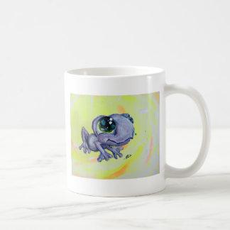 Frog Painting on Canvas Froggy Frogger Animal Kids Coffee Mug