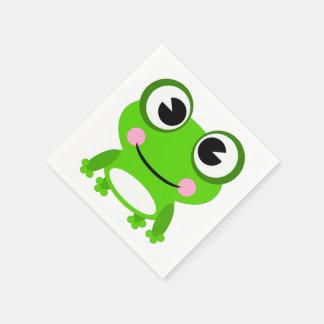 Frog Paper Napkins