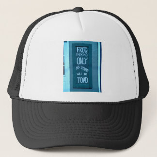 Frog Parking Products Trucker Hat
