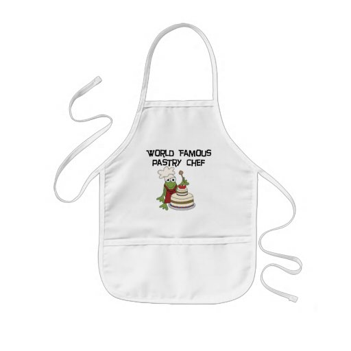 Frog Pastry Chef Tshirts and Gifts Kids' Apron