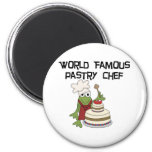 Frog Pastry Chef Tshirts and Gifts Refrigerator Magnet