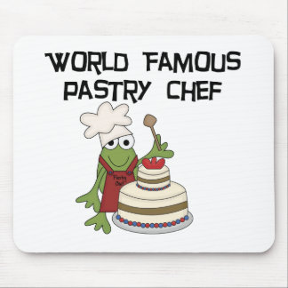 Frog Pastry Chef Tshirts and Gifts Mouse Pad