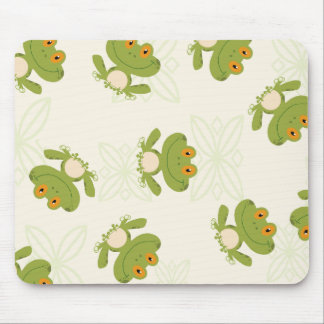 Frog Pattern Mouse Pad