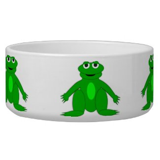 Frog Pet Bowl petbowl