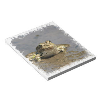 Frog Photograph  Notepad