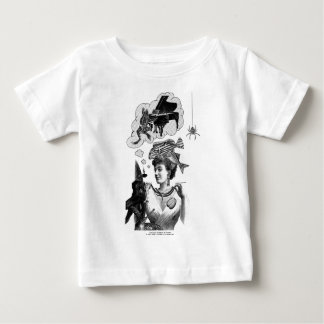 Frog Piano Collage Infant Tee