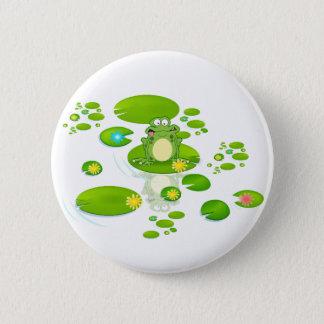 Frog Pinback Button