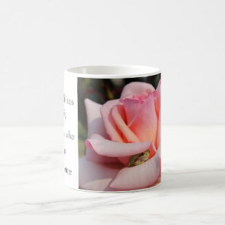 Frog Pink Rose Shakespeare Quote Earth Music Mug 2