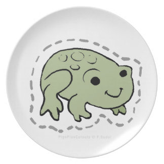FROG PARTY PLATES