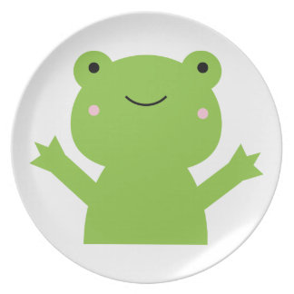Frog Party Plate