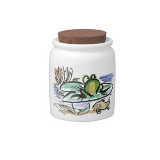 Frog Pond - Above and Below Candy Jars