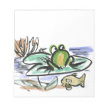 Frog Pond - Above and Below Memo Note Pad