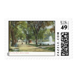 Frog Pond, Boston Common c1910 Vintage Stamps