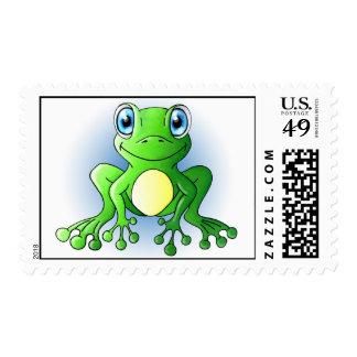 Frog Postage Stamps