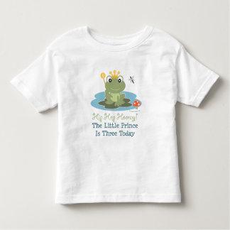 Frog Prince 3rd Birthday T-shirt
