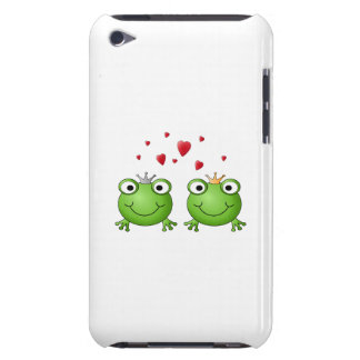 Frog Prince and Frog Princess, with hearts. Barely There iPod Cover