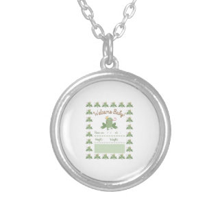 Frog Prince Announcement Round Pendant Necklace