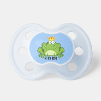 Frog Prince Baby Pacifier